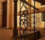 Ограждения лестниц второго этажа