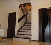Облицовка монолитной лестницы