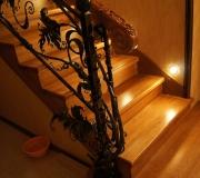Лестница из натурального дуба