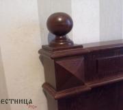 Образец столба для лестницы