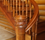 Эксклюзивная деревянная лестница