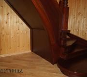Лестница венге