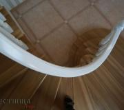 Гнутые перила для лестниц