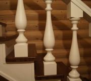 Деревянное ограждение выполненное по эскизам дизайнера