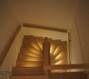 Лестница с подсветкой.