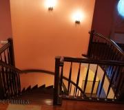 Ограждения лестниц второго этажа.