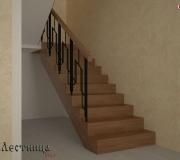 Проект лестницы на второй этаж.