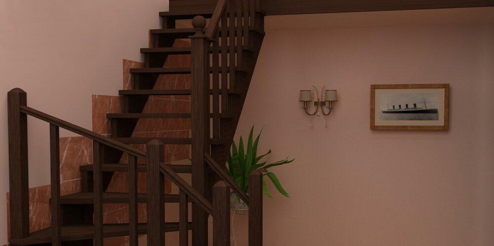 лестницы из березы