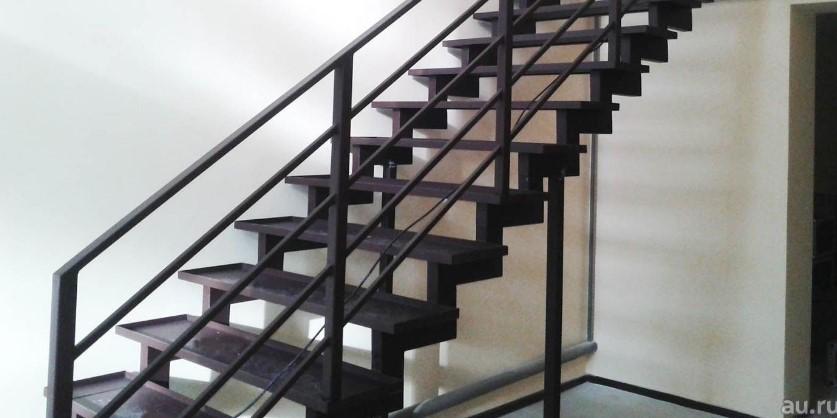 лестницы на металлокаркасе