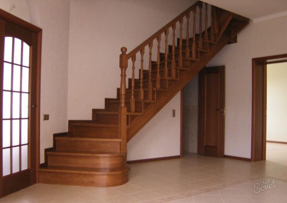 Г образная лестница на второй этаж