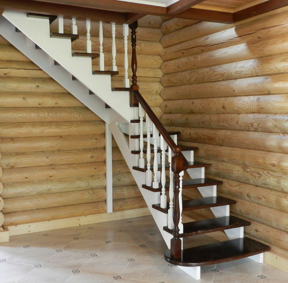 О лестницах комбинированных на второй этаж
