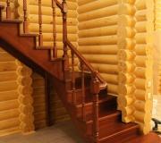 Лестница с поворотом на 90 градусов. Г- образная.