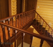 Лестница из хвои.