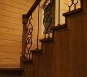 Кованое ограждение для лестниц