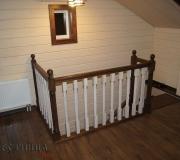 Ограждение для лестниц на втором этаже