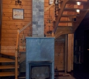 Лестница П - образная