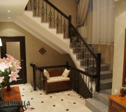 Лестница создающая уют в доме