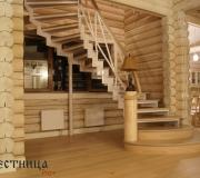 Лестница на 180 градусов