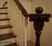 Деревянная лестница в Калужской области