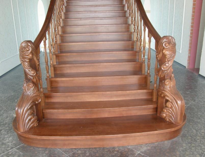 изготовление лестниц из бука