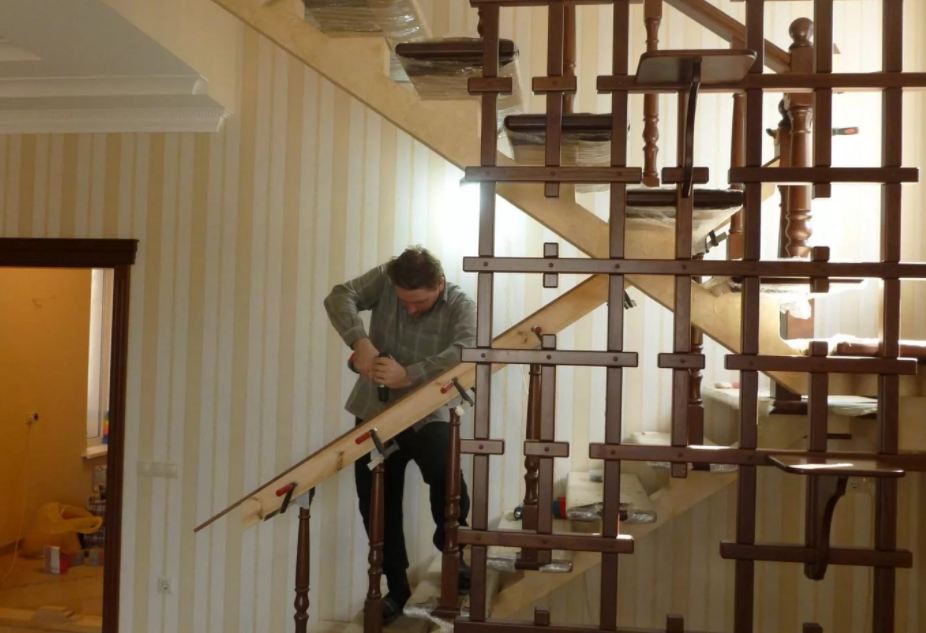 деревянные, металлические и бетонные лестницы