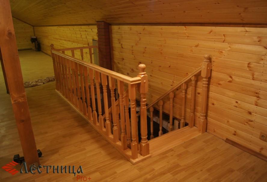 красивые лестницы из хвои