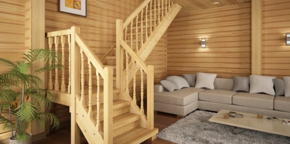 лестницы из хвои