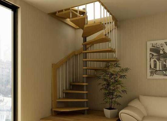 О лестнице на мансарду