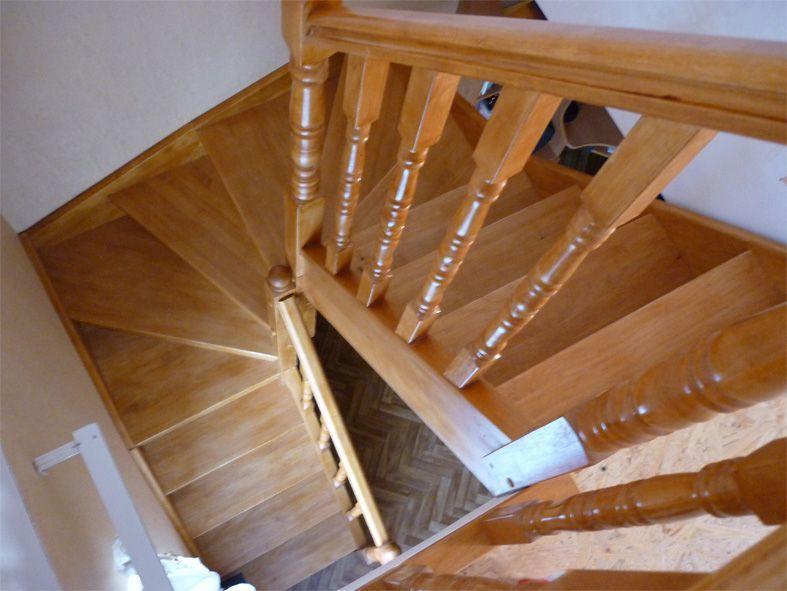 О лестнице с забежными ступенями