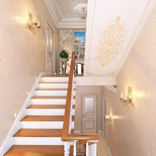 О лестнице в таунхаус