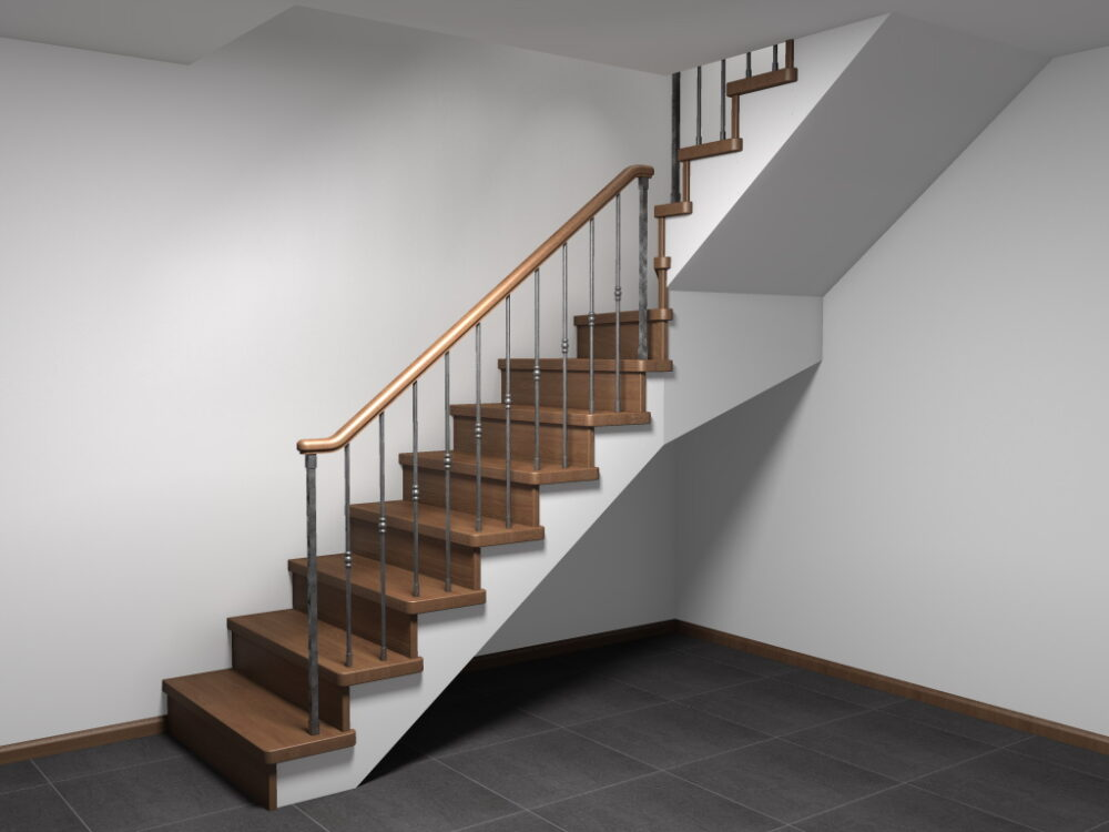 О лестнице для коттеджей