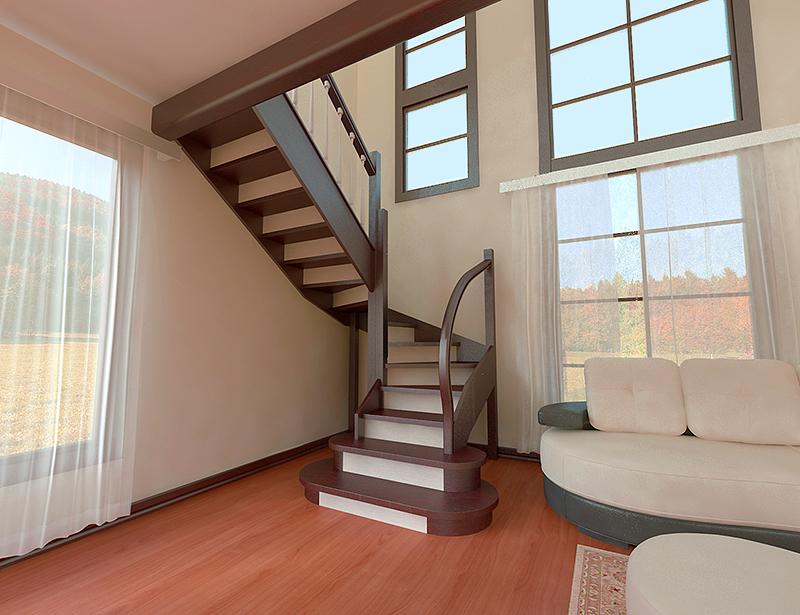 Нетиповые лестницы
