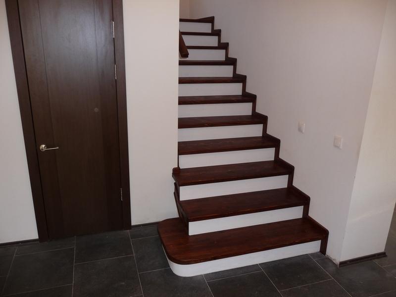 О обшивке лестницы