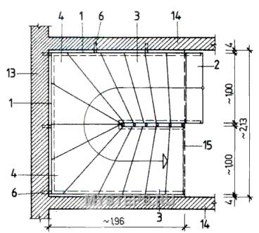 О проектировании лестницы