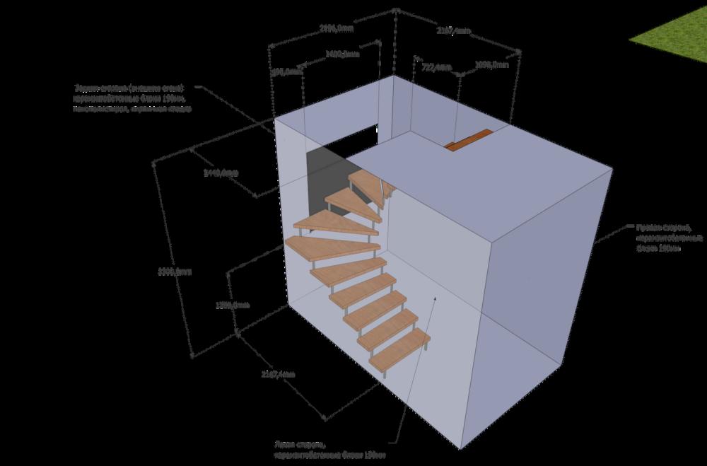 О расчете лестницы на второй этаж