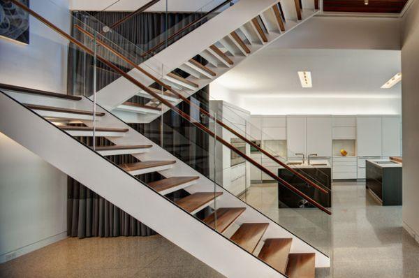 О современных лестницах