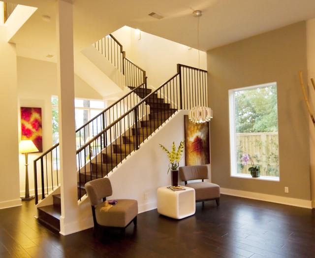 О трехмаршевой лестнице с двумя площадками