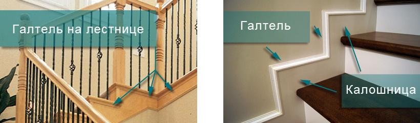 галтель для лестницы